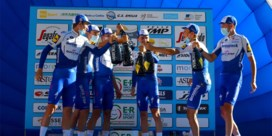 Deceuninck - Quick-Step aan het feest in ploegentijdrit Settimana Coppi e Bartali