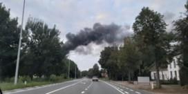 Zware brand in garage Hyundai in Geraardsbergen