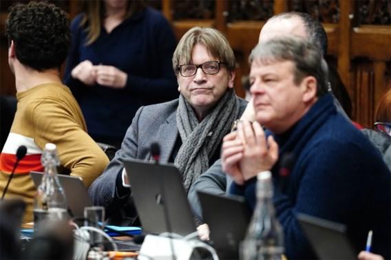 Guy Verhofstadt verdwijnt dan toch uit Gentse gemeenteraad