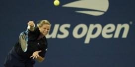 Kim Clijsters strandt in eerste ronde US Open