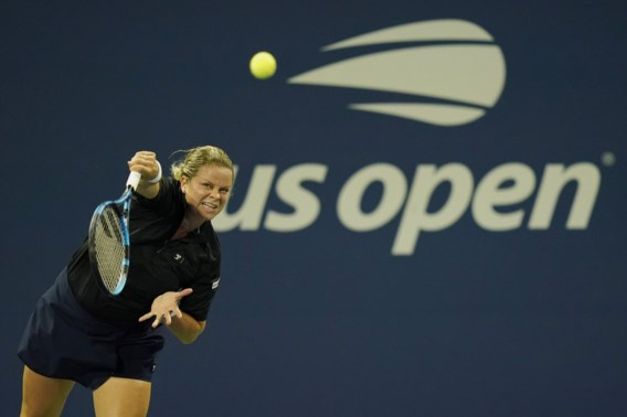 Kim Clijsters strandt in eerste ronde US Open