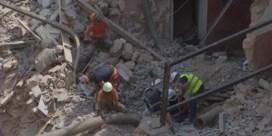 Hoop in Beiroet na teken van leven onder puin