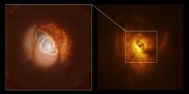 Een '3D-zonnestelsel' met drie zonnen