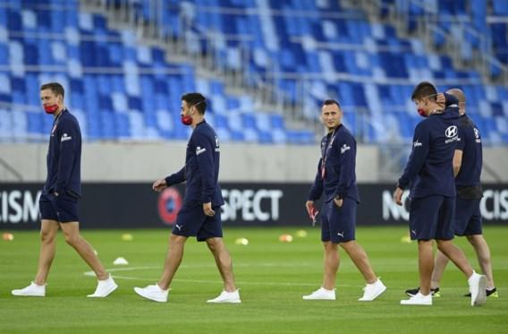 Tsjechië met geheel nieuw elftal en staf tegen Schotland in Nations League
