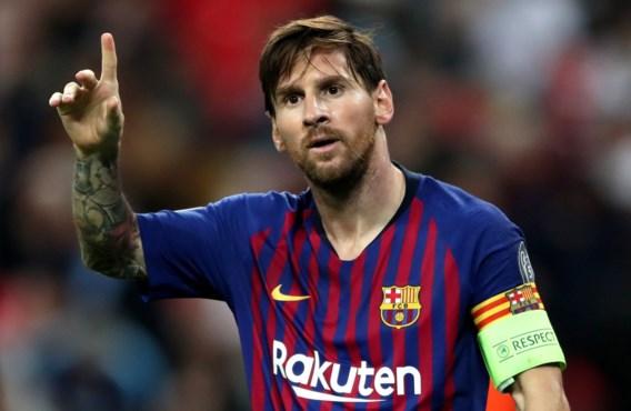 Lionel Messi blijft dan toch bij FC Barcelona