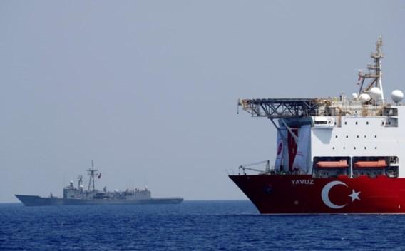 Turkije organiseert militaire oefeningen voor kust Cyprus