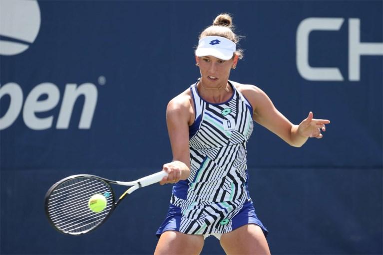 """Elise Mertens klopt makkelijk Caty McNally en blijft zonder setverlies op US Open: """"In het begin nochtans niet bij de les"""""""