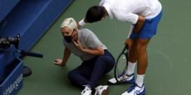Djokovic krijgt boete van 10.000 dollar wegens onsportief gedrag