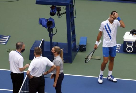 Novak Djokovic krijgt nog boete van 10.000 dollar bovenop diskwalificatie voor US Open