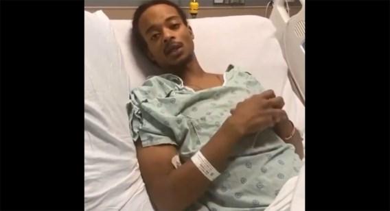 Jacob Blake vanuit ziekenhuisbed: 'Alles doet pijn'