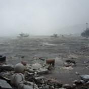 Sterke tyfoon aan land in Zuid-Korea