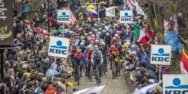 Supporters niet welkom aan finish en op hellingen in Ronde van Vlaanderen