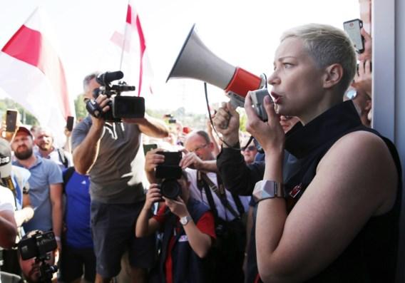 Maria Kalesnikava op klaarlichte dag in centrum van Minsk ontvoerd