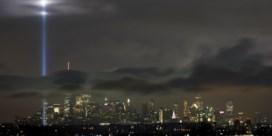 Skyline New York licht op voor slachtoffers 9/11