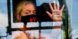 Tiendaags protest eindigt topless in Londen