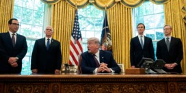Trump kondigt 'vredesakkoord' aan tussen Bahrein en Israël