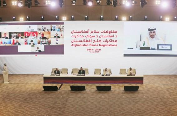 Historisch vredesoverleg taliban en Kaboel gestart in Qatar