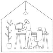 Hoe optimaliseer ik mijn thuiskantoor?