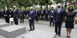 Pence en Biden herdenken aanslagen bij Ground Zero, Trump houdt toespraak in Shanksville