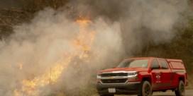 Spectaculaire wolkenformatie boven Amerikaanse bosbranden