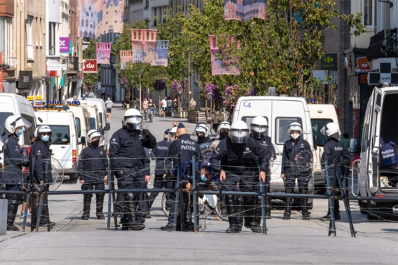Mechelen is 'belegerde stad' maar van protestmars geen sprake