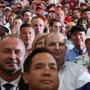 Trump overtreedt coronamaatregelen bij indoor massabijeenkomst