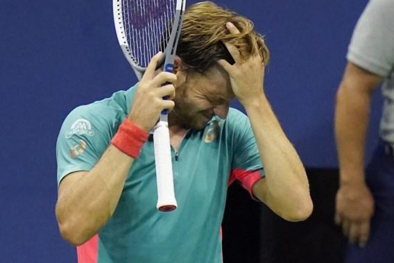 David Goffin mist opnieuw kwartfinales US Open
