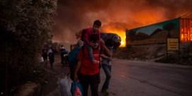 Brand vluchtelingenkamp Lesbos: Frankrijk en Duitsland werken aan gemeenschappelijk plan