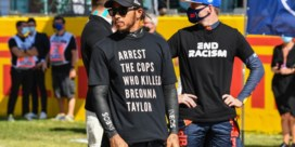Onderzoek naar t-shirt van F1-wereldkampioen Lewis Hamilton