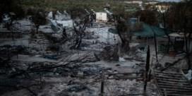 Griekse politie pakt vijf verdachten van brand in Moria op
