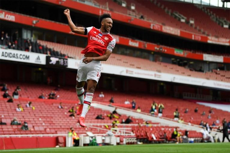 Aubameyang blijft bij Arsenal en verlengt contract