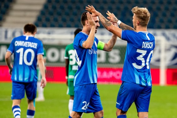 Gent neemt eerste horde op weg naar Champions League
