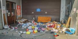 Sluikstorters laten voortdurend afval achter bij Kringwinkel Roeselare