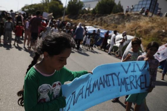 België gaat alvast 12 minderjarige vluchtelingen uit Moria opvangen