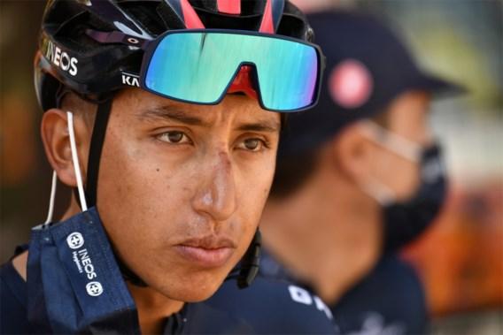 Egan Bernal heeft zich teruggetrokken uit de Tour de France