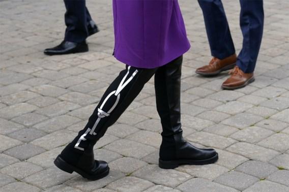 Jill Biden gebruikt ook haar laarzen om stemmen te sprokkelen