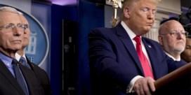 Trump spreekt topviroloog tegen over timing vaccin: 'Hij was in de war'