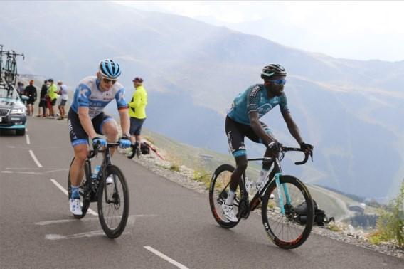 André Greipel knijpt de remmen dicht in de Tour de France