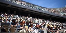 Capaciteit Roland Garros zakt naar 5.000 toeschouwers per dag
