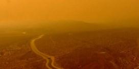 Inwoners in de buurt van L.A. ontwaken in 'Marslandschap'