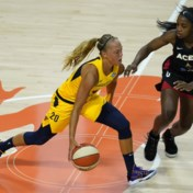 Julie Allemand grijpt naast trofee voor beste nieuwkomer in de WNBA