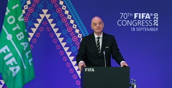 """Infantino pronkt op congres met """"nieuwe FIFA"""" zonder corruptie en achterkamertjespolitiek"""