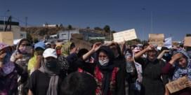 Moria, na de brand: onze fotograaf bij de vluchtelingen op de vlucht