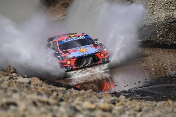Thierry Neuville eindigt tweede in rally van Turkije, dubbelslag voor Elfyn Evans