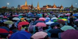 Protest in Hongkong inspireert duizenden Thaise jongeren
