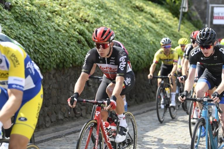 """Gerben Thijssen wordt tweede in Gooikse Pijl en is blij er opnieuw te staan na zware val in Zesdaagse: """"Ik heb diep gezeten"""""""