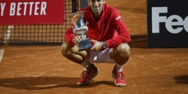 Novak Djokovic wint voor de 5de keer het ATP-toernooi van Rome en snoept straf record af van Rafael Nadal