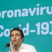 'Het virus circuleert nu het sterkst onder tieners'