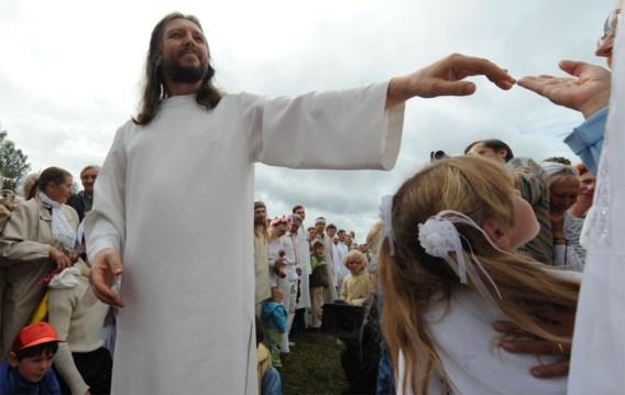 'Christus van Siberië' opgepakt in Rusland