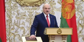 Loekasjenko legt eed af